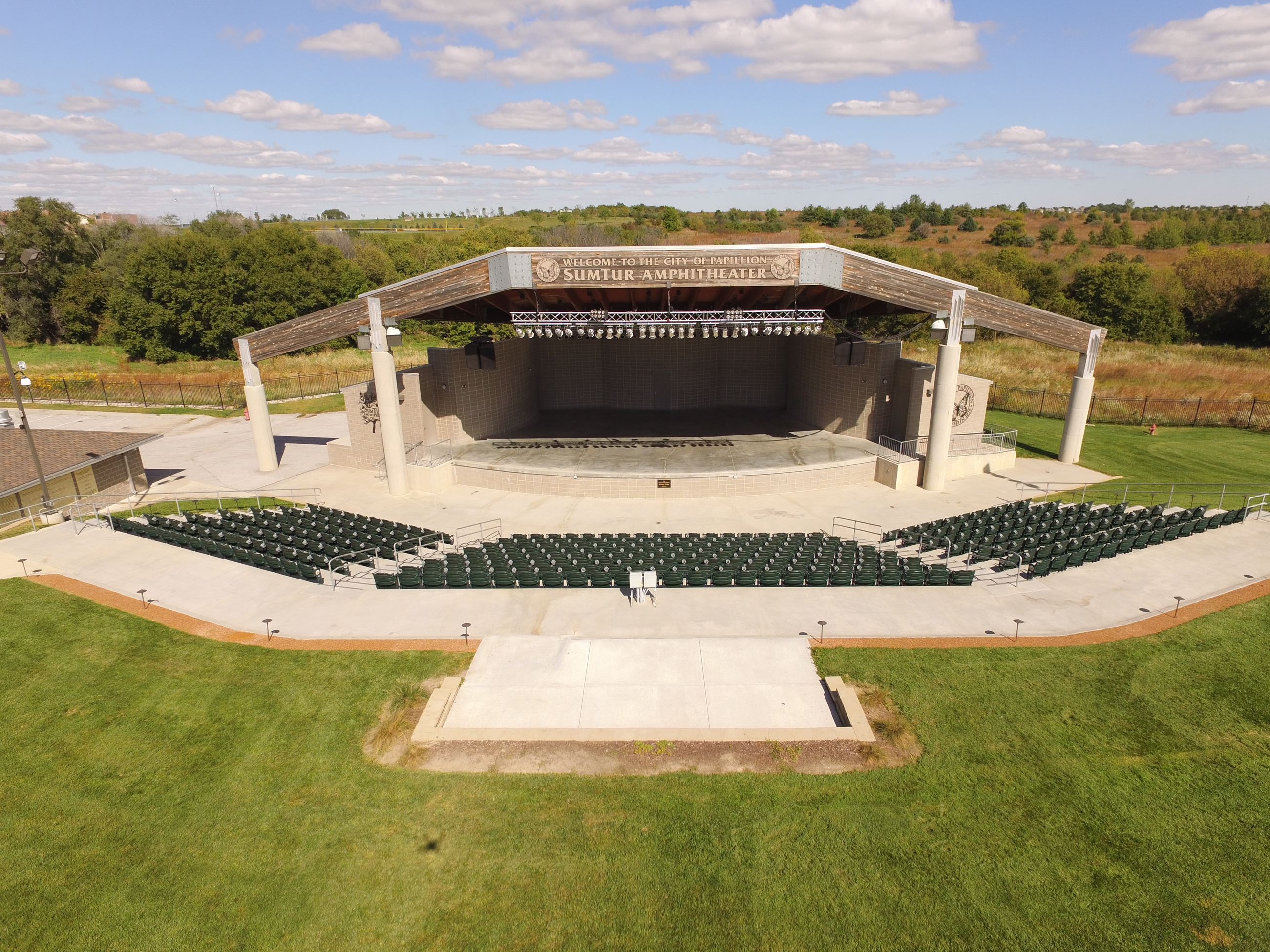 SumTur Amphitheater Aerial Photo