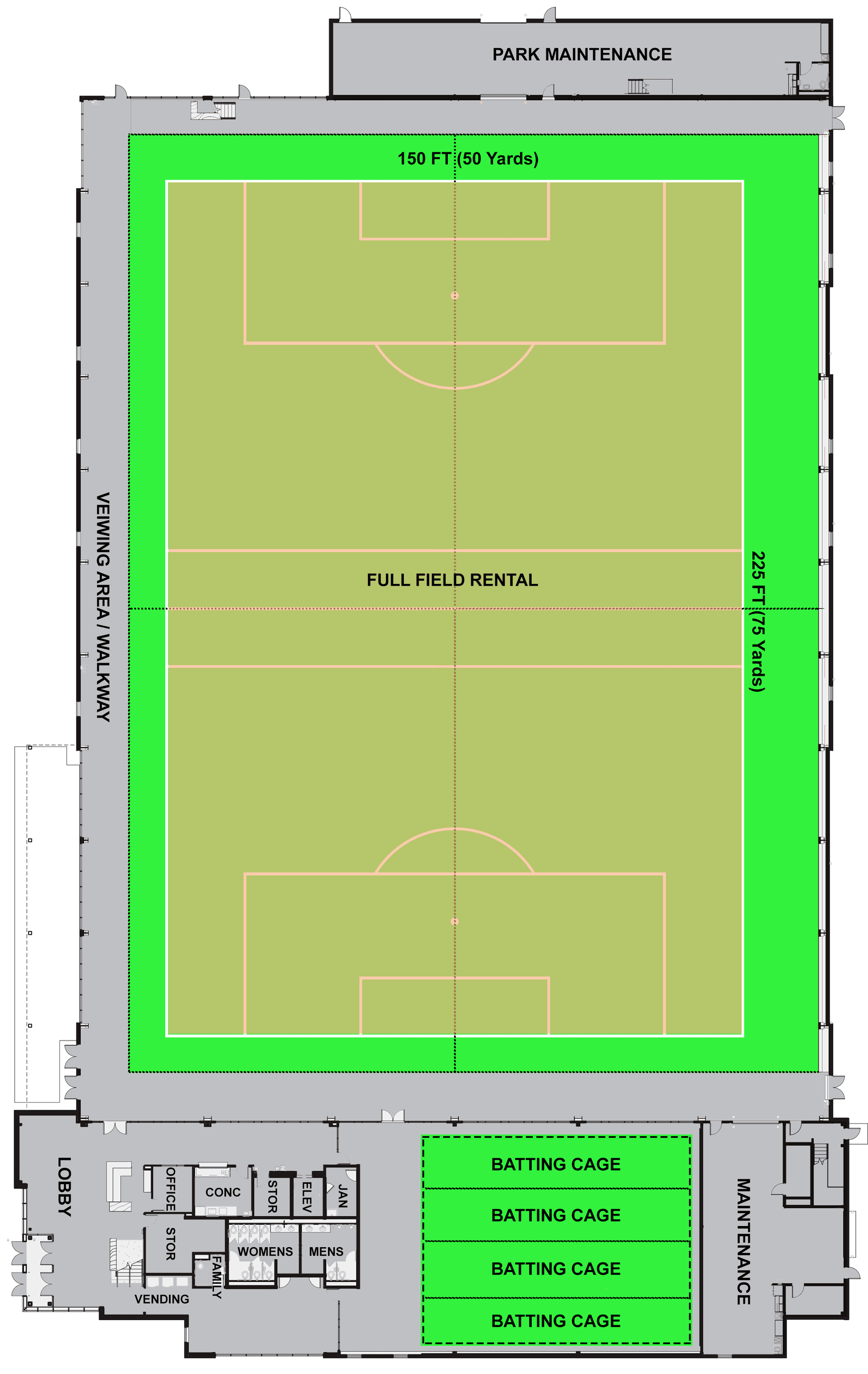 PLFH FULL FIELD RENTAL