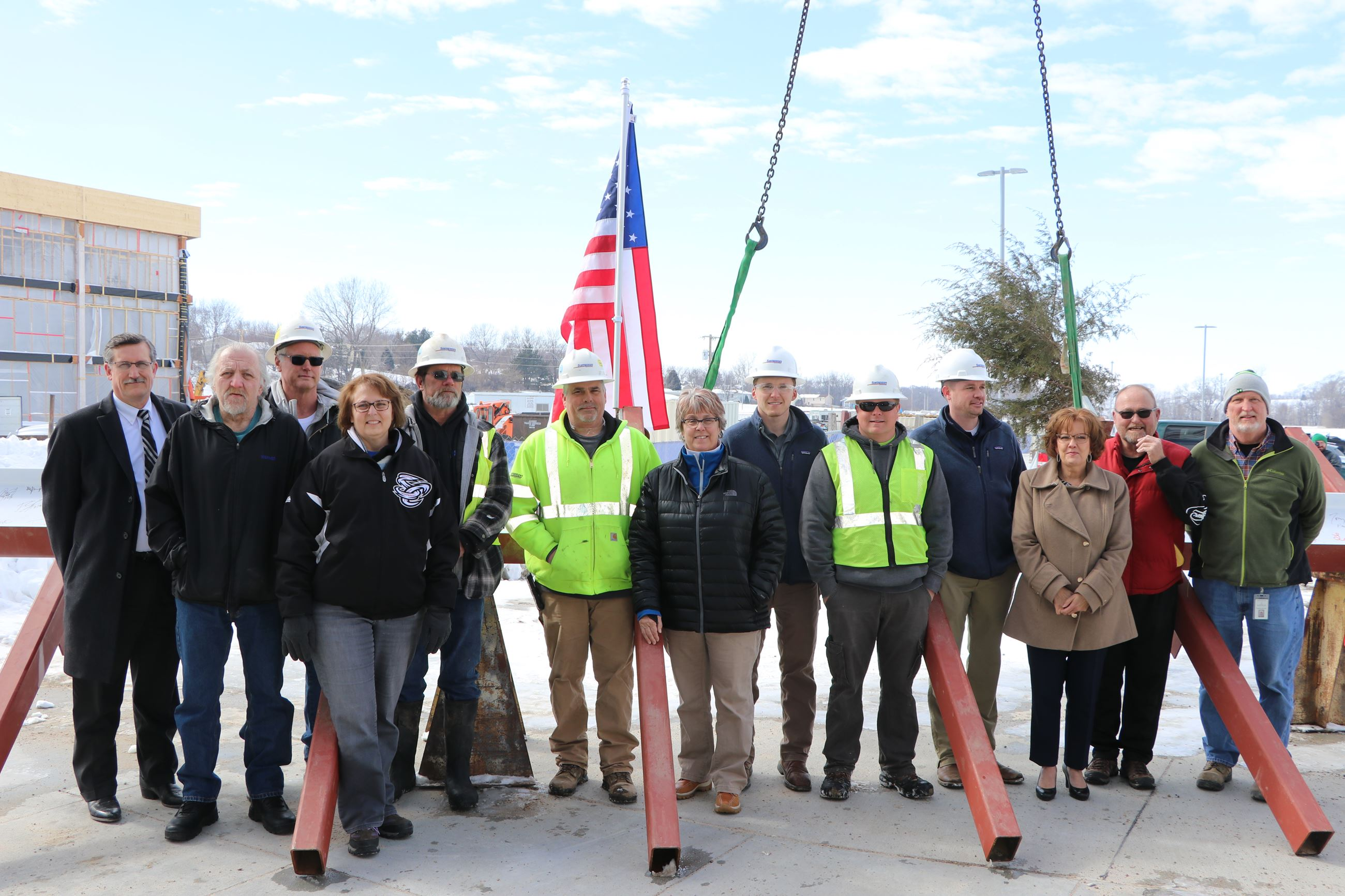 Papillion Landing Topping-Out Ceremony