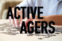 Active Agers Button