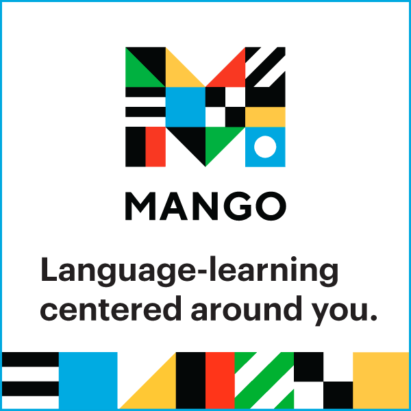 Click Here for access to Mango Languages!
